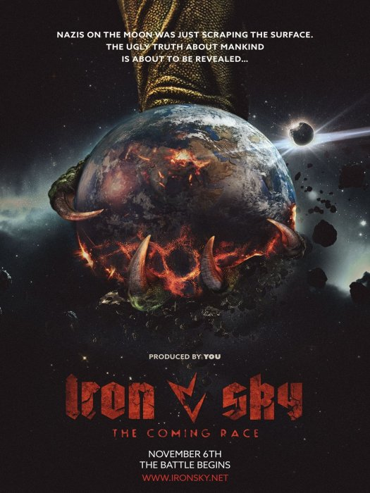 Iron Sky 2: The Coming Race : Affiche