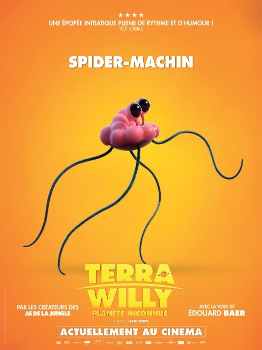 Terra Willy - Planète inconnue : Affiche