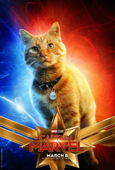 Captain Marvel : Affiche