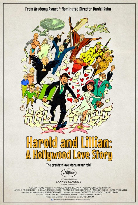 Harold and Lilian: A Hollywood Love Story : Affiche