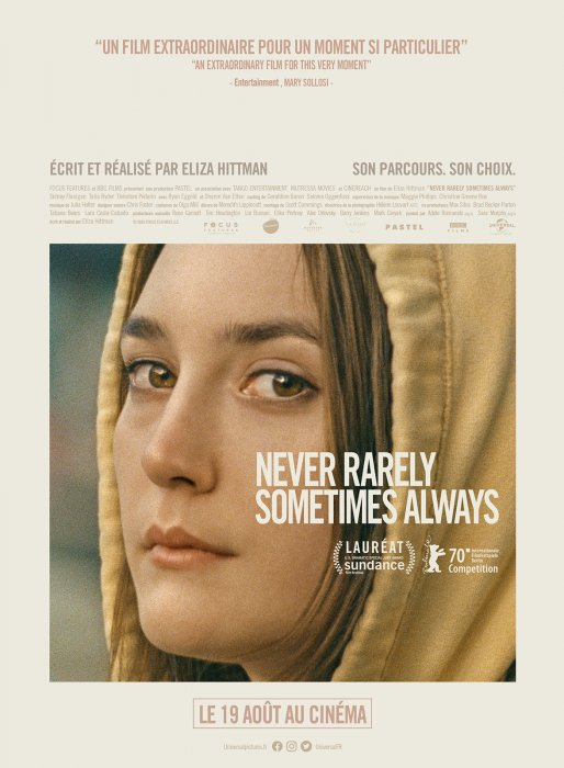 Never Rarely Sometimes Always : Affiche