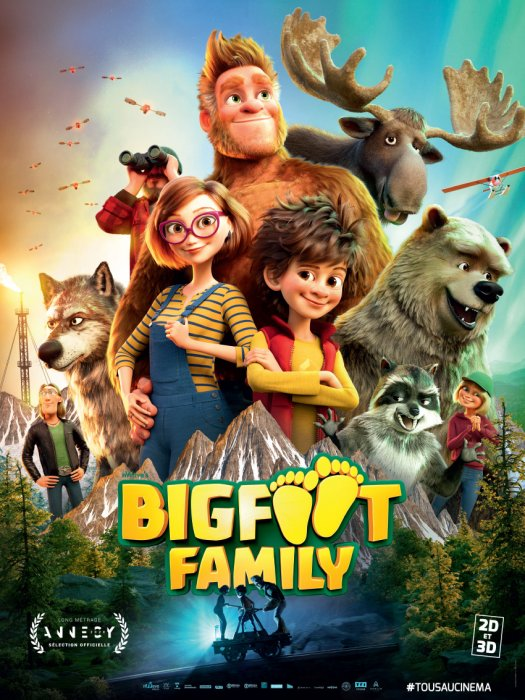 Bigfoot Family : Affiche