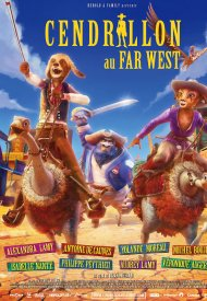 Affiche de Cendrillon au Far West