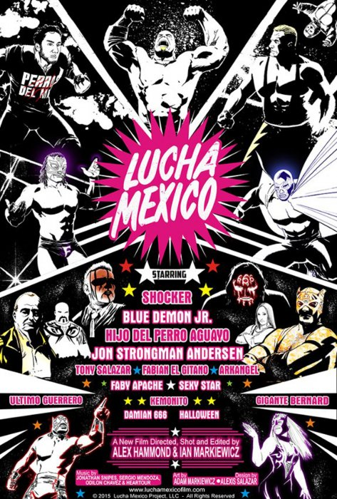 Lucha Mexico : Affiche