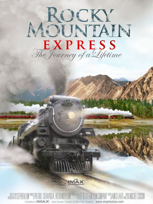 Rocky Mountain Express : Affiche