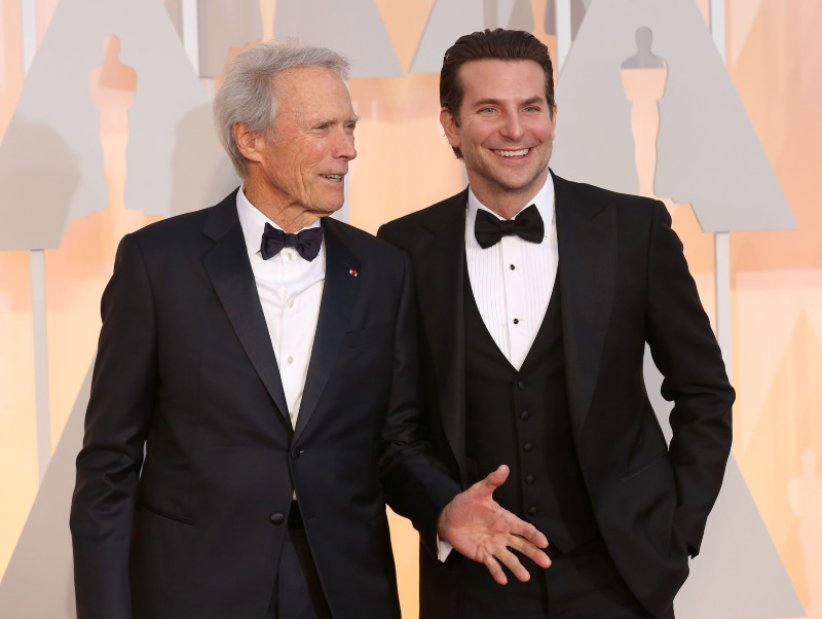 American Sniper : Photo promotionnelle Bradley Cooper, Clint Eastwood