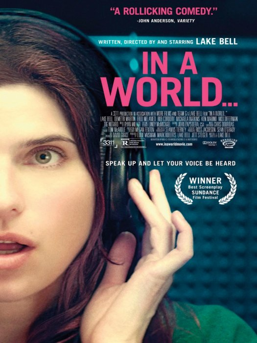 In A World... : Affiche