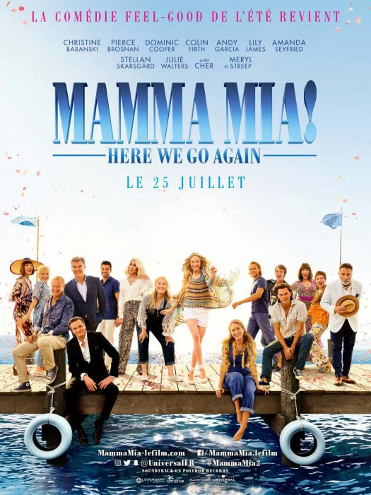 Mamma Mia! Here We Go Again : Affiche