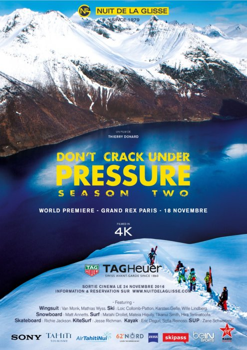 NUIT DE LA GLISSE - Don't Crack Under Pressure Season Two : Affiche