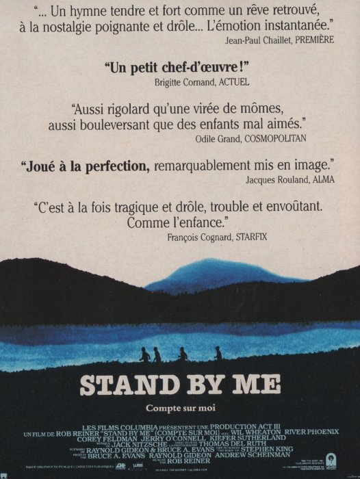 Stand by Me : Affiche