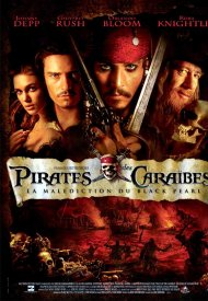 Affiche de Pirates des Caraïbes : la Malédiction du Black Pearl