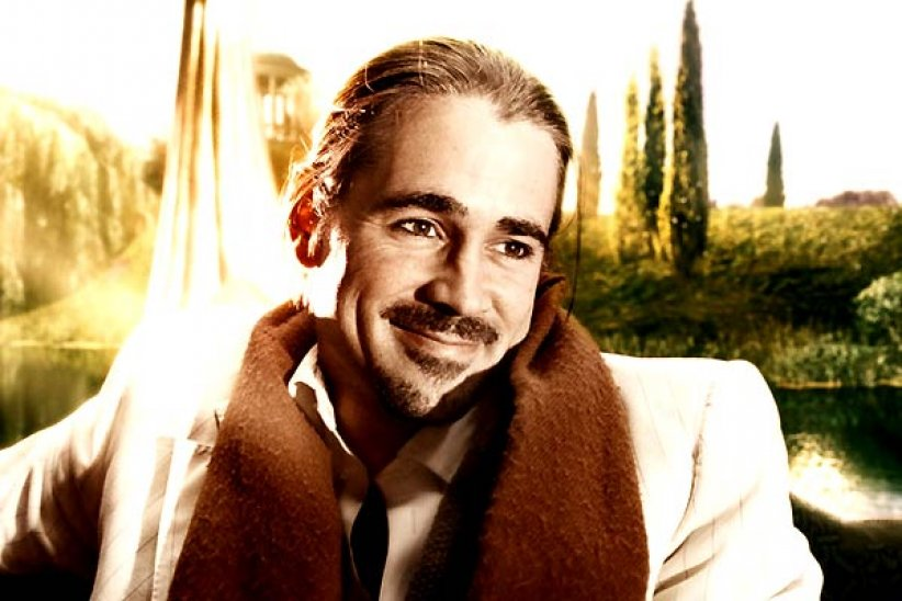 L'Imaginarium du Docteur Parnassus : photo Colin Farrell, Terry Gilliam