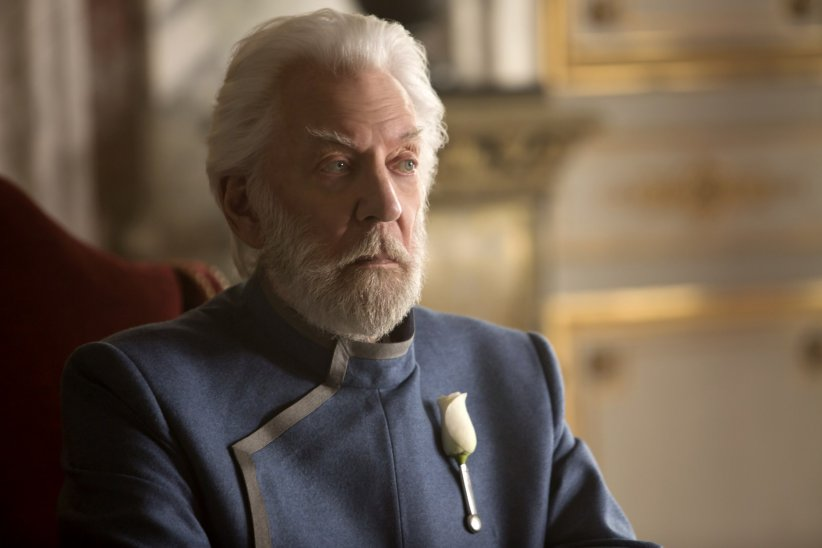 Hunger Games - La Révolte : Partie 1 : Photo Donald Sutherland