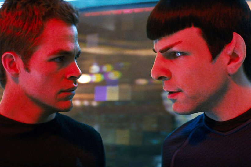 Star Trek : Photo Chris Pine, Zachary Quinto