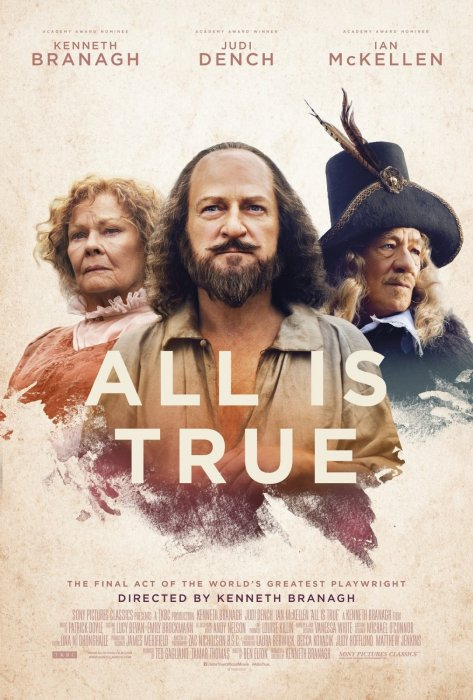 All Is True : Affiche