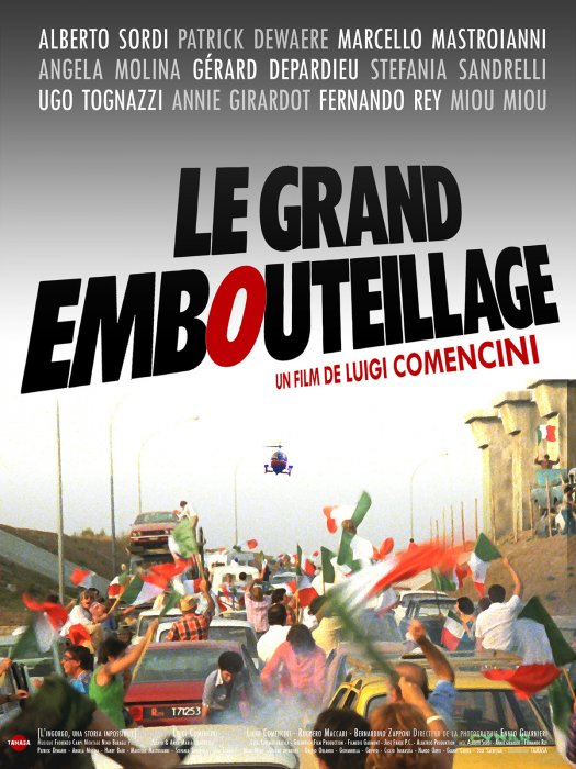 Le Grand embouteillage : Affiche