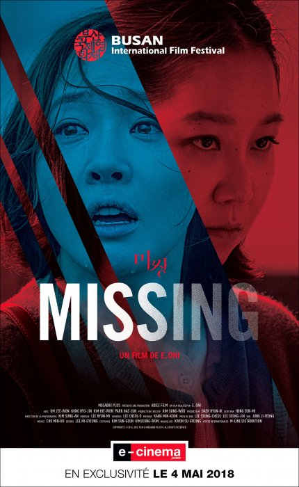 Missing : Affiche