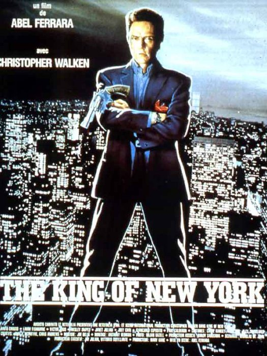The King of New York : Affiche