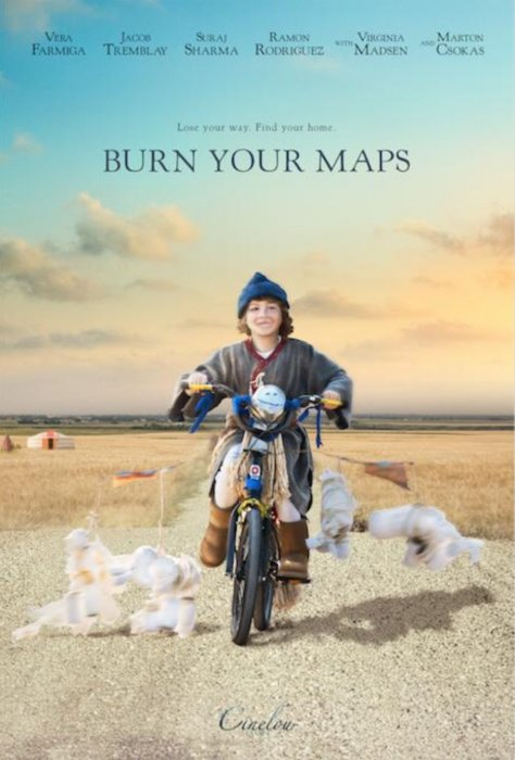 Burn Your Maps : Affiche