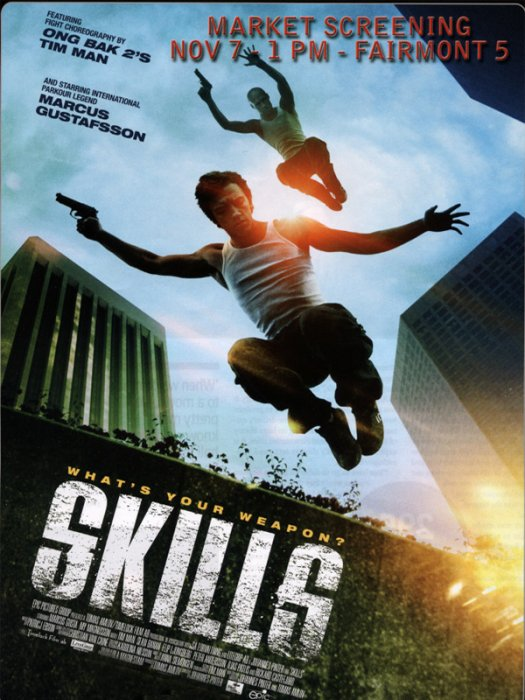 Parkour to Kill : Affiche