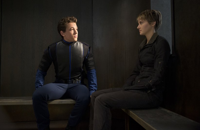 Divergente 2 : l'insurrection : Photo Miles Teller, Shailene Woodley