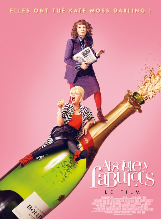 Absolutely Fabulous : Le Film : Affiche