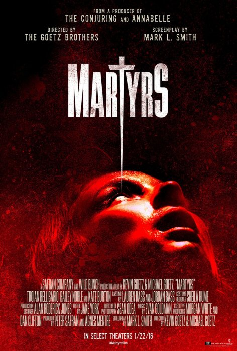 Martyrs : Affiche