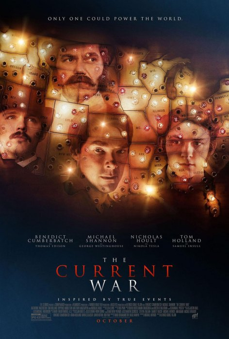 The Current War : Affiche