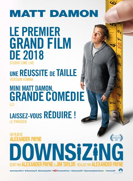Downsizing : Affiche
