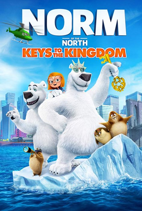 Norm of the North: Keys to the Kingdom : Affiche