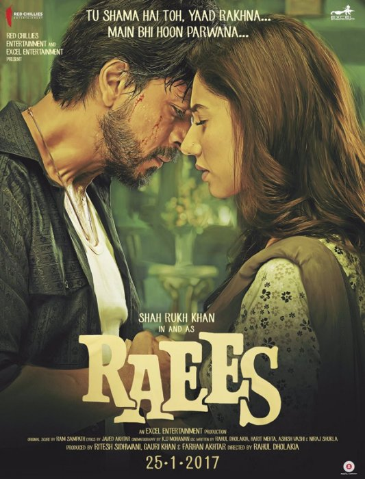 Raees : Affiche
