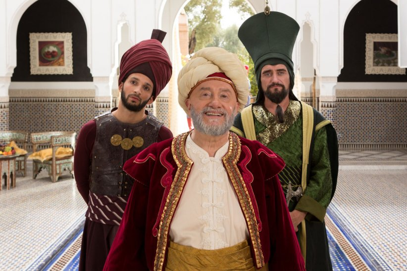 Les Nouvelles aventures d'Aladin : Photo Jean-Paul Rouve, Michel Blanc, William Lebghil