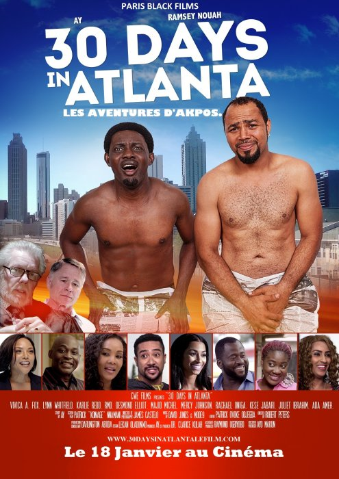 30 days in Atlanta : Affiche
