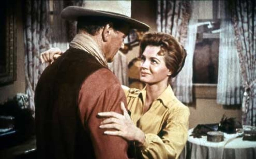 Rio Bravo : Photo Angie Dickinson, Howard Hawks, John Wayne