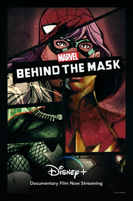 Marvel's Behind The Mask : Affiche