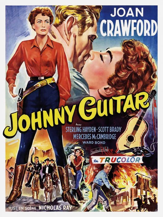Johnny Guitare : Affiche