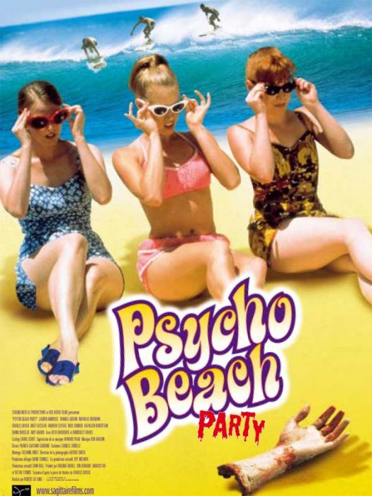 Psycho Beach Party : Affiche