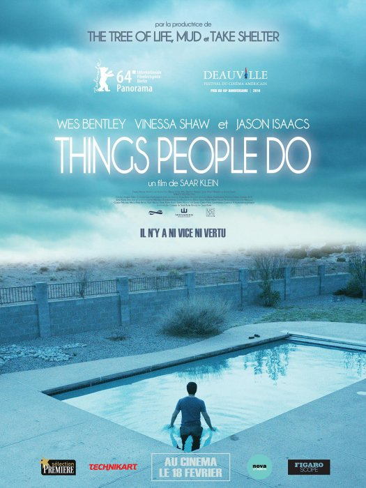 Things People do : Affiche