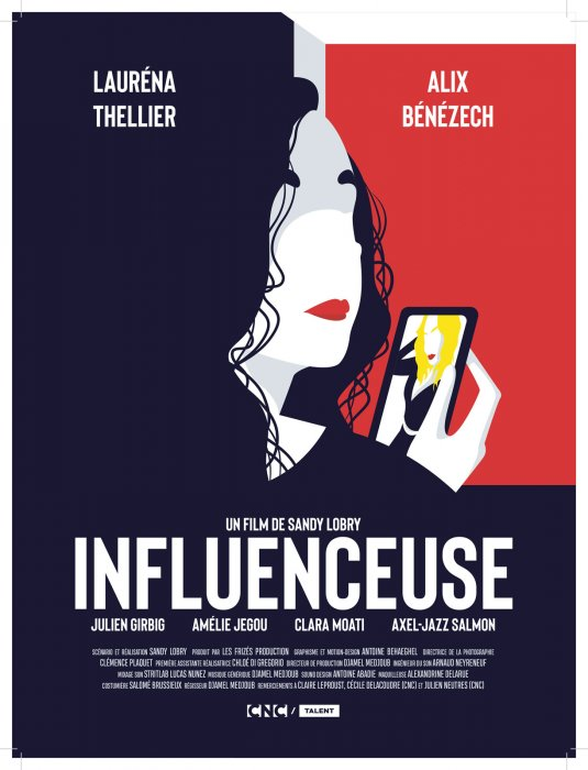 Influenceuse : Affiche