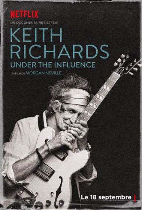 Keith Richards: Under the Influence : Affiche