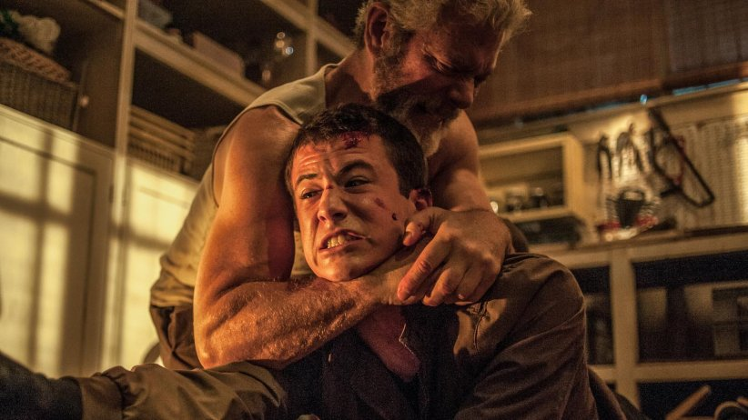 Don't breathe - La maison des ténèbres : Photo Dylan Minnette, Stephen Lang