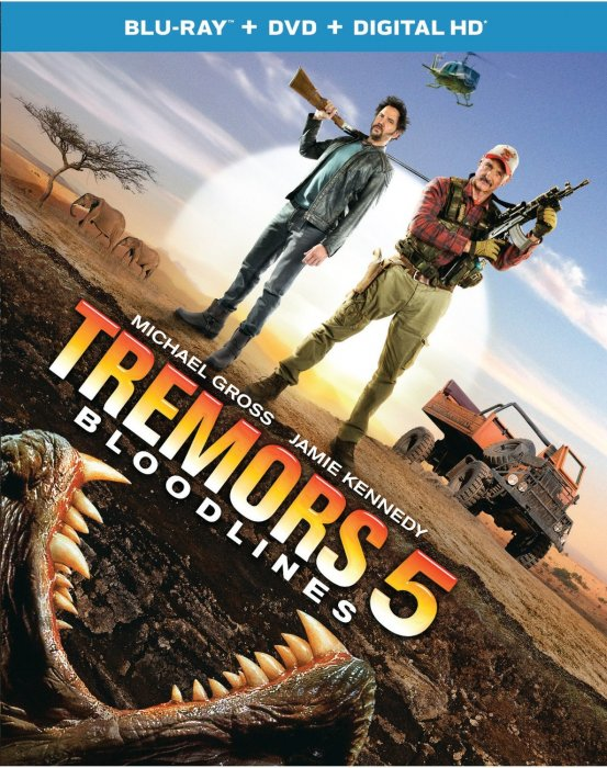 Tremors 5: Bloodlines : Affiche