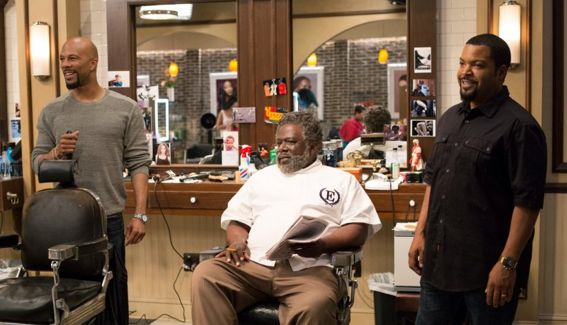 Barbershop: The Next Cut : Photo Cedric The Entertainer, Common, Ice Cube