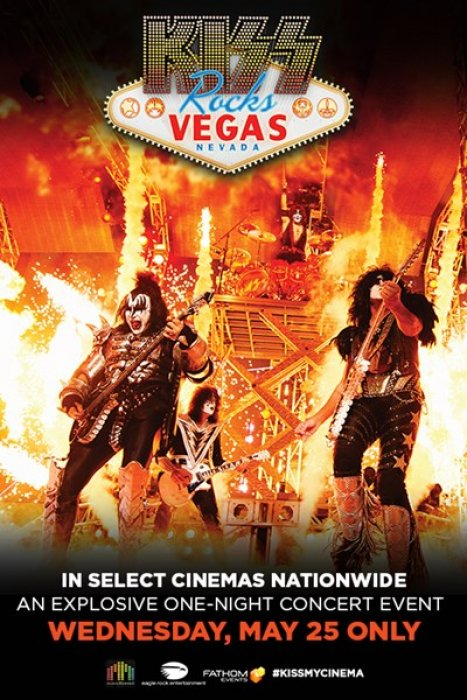 Kiss Rocks Vegas : Affiche
