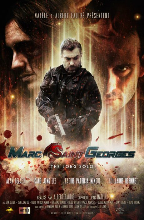 "Marc Saint Georges ""Le Long solo"" : Affiche"