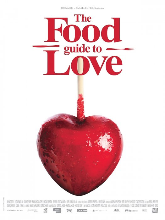 The Food Guide to Love : Affiche