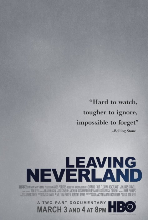 Leaving Neverland : Affiche