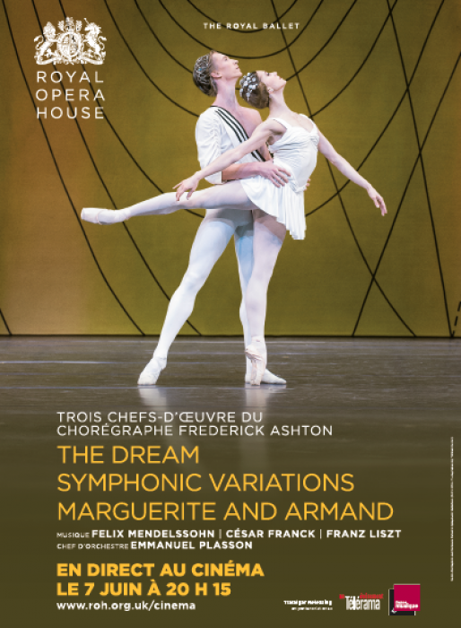 The Dream, Symphonic Variations, Marguerite and Armand : Affiche