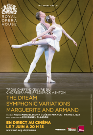 Affiche de The Dream, Symphonic Variations, Marguerite and Armand