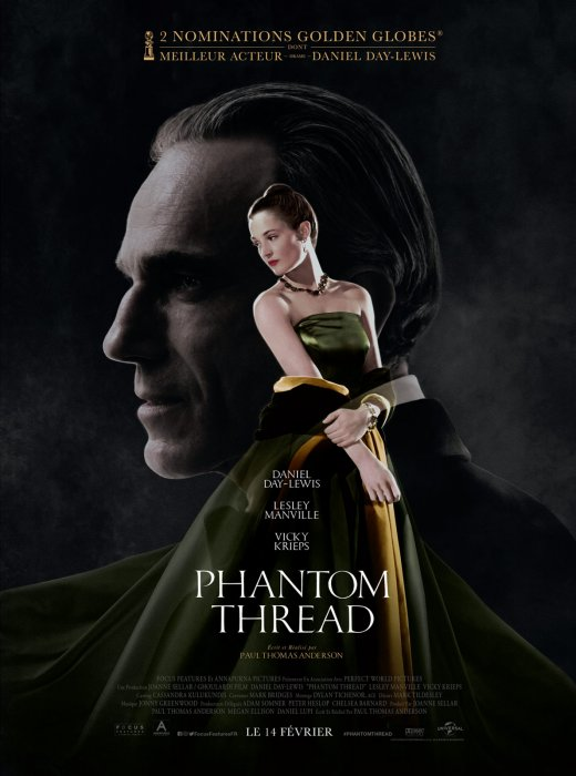 Phantom Thread : Affiche